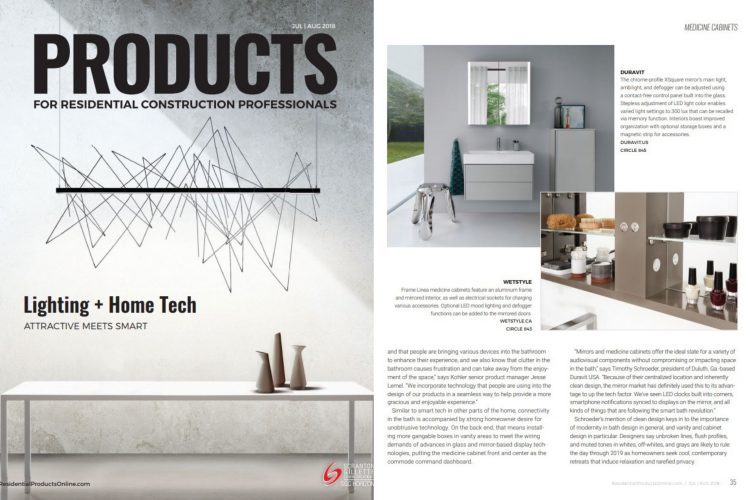 products magazine jully august 2018 tabloid - cube collection