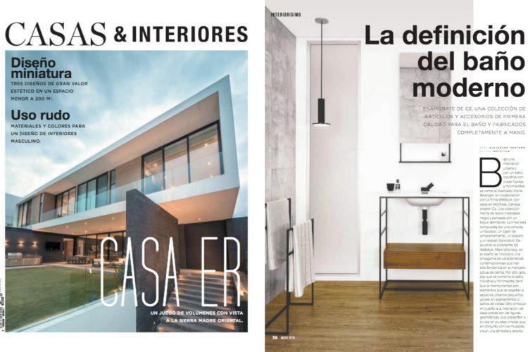 casas & interiores mayo 2018 - c2 collection