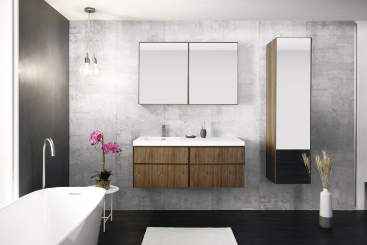 frame linea mirrored cabinet