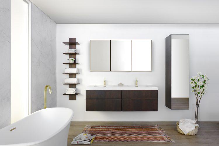frame linea morrored cabinet