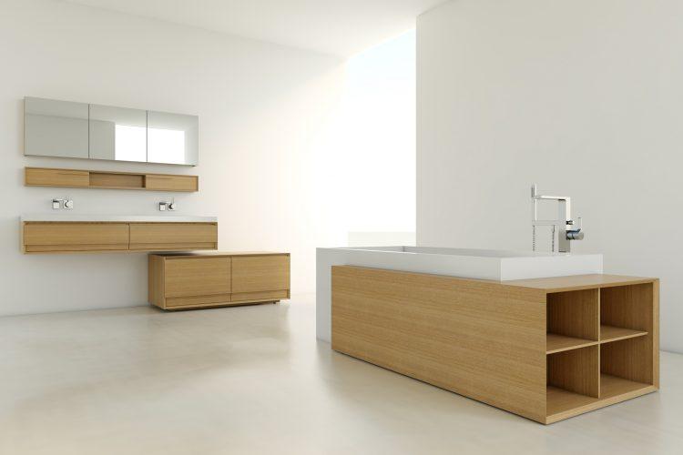 Storage for Cube Bathtub